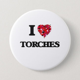 I love Torches Pinback Button