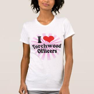 I Love Torchwood Officers T-shirt