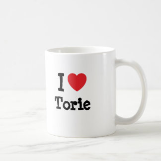 I love Torie heart T-Shirt Mug