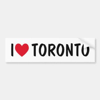 Toronto Bumper Stickers Car Stickers Zazzle