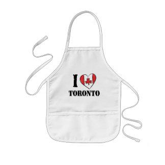 I Love Toronto Canada Kids' Apron