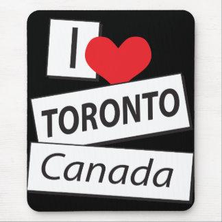 I Love Toronto Canada Mouse Pad