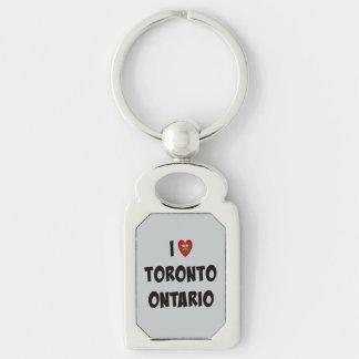 I Love Toronto, Ontario Keychain