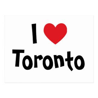 I Love Toronto Postcard