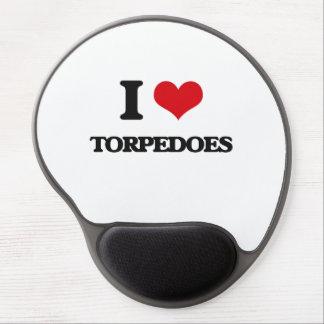 I love Torpedoes Gel Mouse Pad