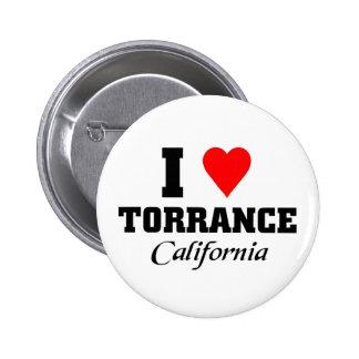 I love Torrance, California Pins