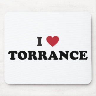 I Love Torrance California Mouse Pads
