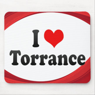 I Love Torrance, United States Mouse Pad