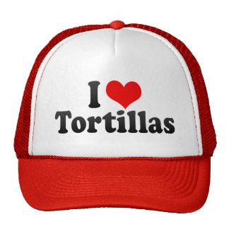 I Love Tortillas Mesh Hats