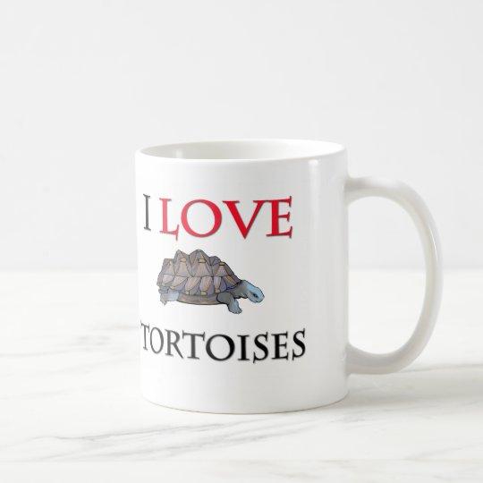 I Love Tortoises Coffee Mug