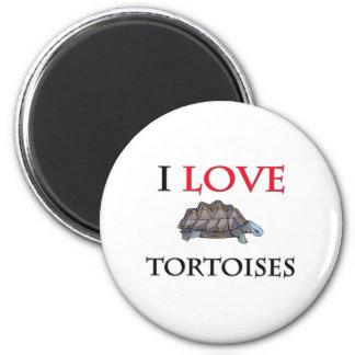 I Love Tortoises Magnets