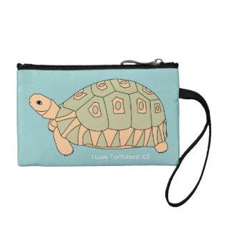 I Love Tortoises Mini Bag (ang green) Coin Purse