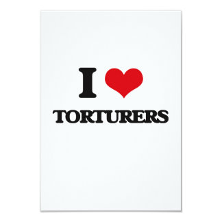 I love Torturers Personalized Announcement