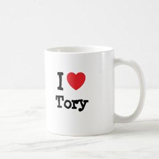 I love Tory heart custom personalized Coffee Mug