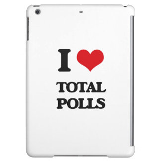 I love Total Polls iPad Air Covers