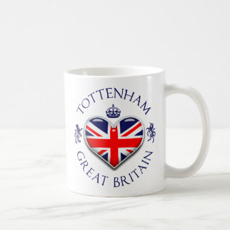 I Love Tottenham Classic White Coffee Mug