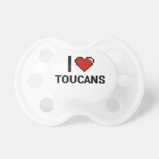 I love Toucans Digital Design BooginHead Pacifier
