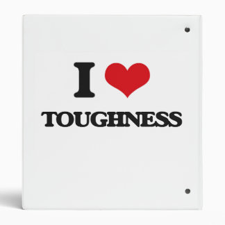I love Toughness 3 Ring Binders