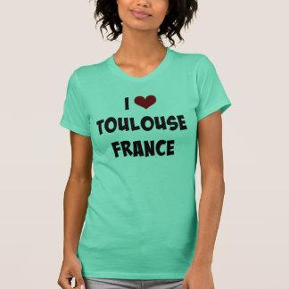 I Love Toulouse, France custom design T-Shirt