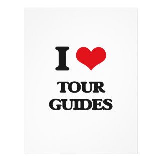 I love Tour Guides Personalized Flyer