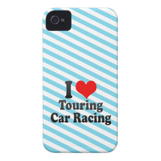 I love Touring Car Racing iPhone 4 Covers