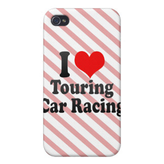 I love Touring Car Racing Case For iPhone 4