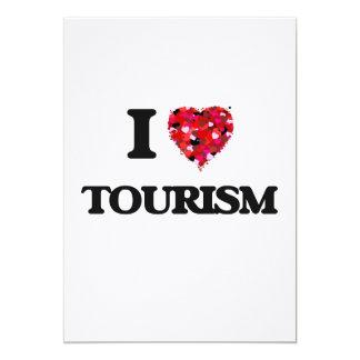 I love Tourism 5x7 Paper Invitation Card