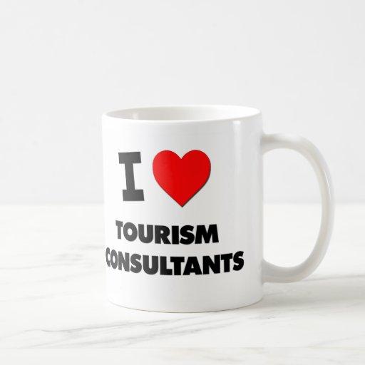 I Love Tourism Consultants Coffee Mug