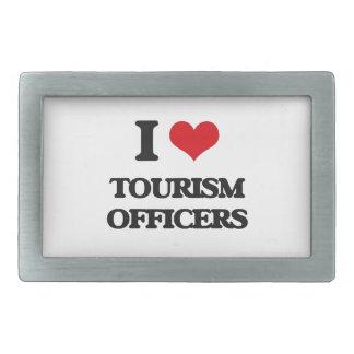 I love Tourism Officers Belt Buckles