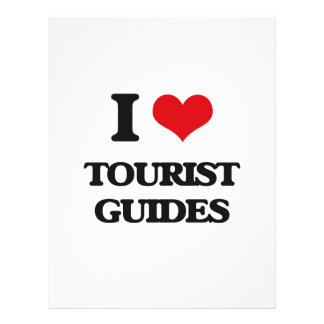 I love Tourist Guides Flyers