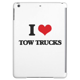 I love Tow Trucks Case For iPad Air