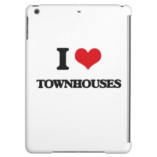 I love Townhouses iPad Air Cases