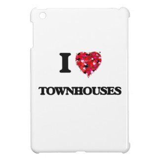 I love Townhouses iPad Mini Case