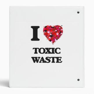 I love Toxic Waste Vinyl Binders