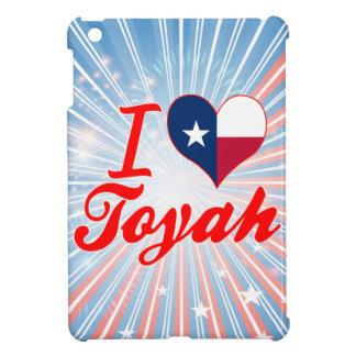 I Love Toyah, Texas iPad Mini Cover
