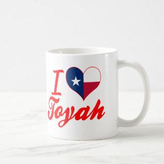 I Love Toyah, Texas Coffee Mug