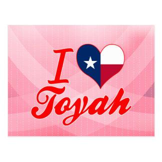 I Love Toyah, Texas Post Cards