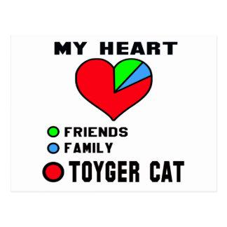 I love Toyger. Postcard