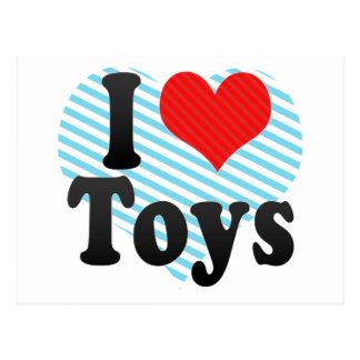 I Love Toys Postcard