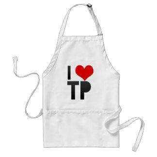 I Love TP Aprons