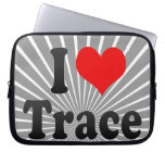 I love Trace Computer Sleeve