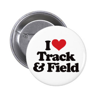 I Love Track and Field Buttons