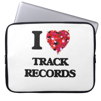 I love Track Records Computer Sleeves