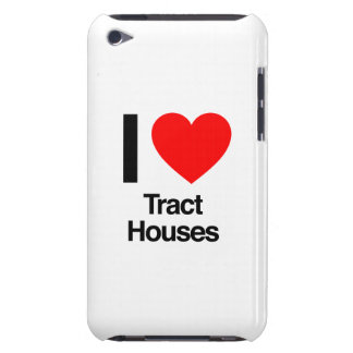 i love tract houses iPod touch Case-Mate case