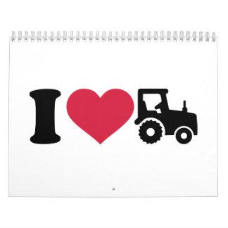 I love tractor calendar