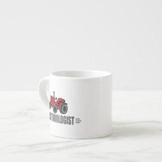 I Love Tractors Espresso Cup