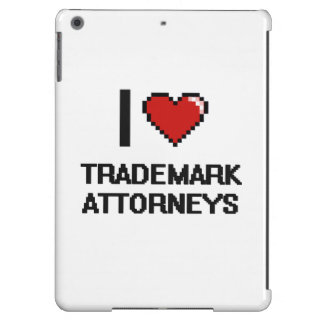 I love Trademark Attorneys iPad Air Covers