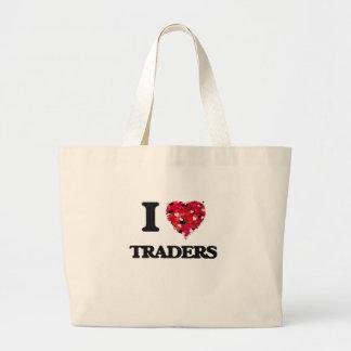 I love Traders Jumbo Tote Bag