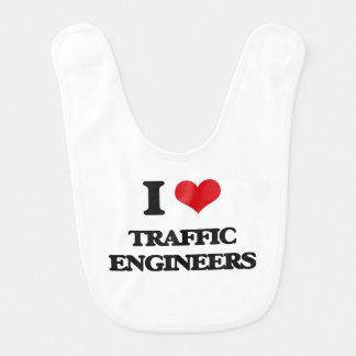 I love Traffic Engineers Bib