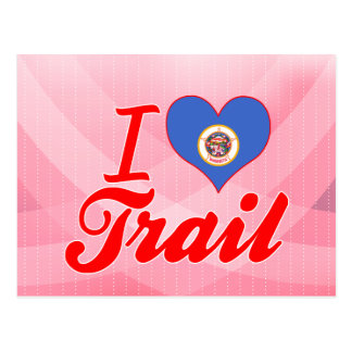 I Love Trail, Minnesota Post Cards
